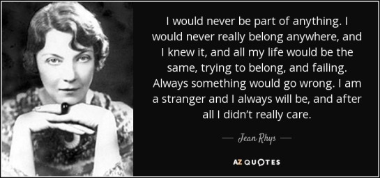 Jean Rhys quote