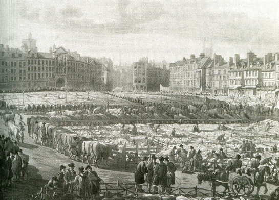 A View of Smithfield Market from 'The Italian Boy' by Sarah Wise