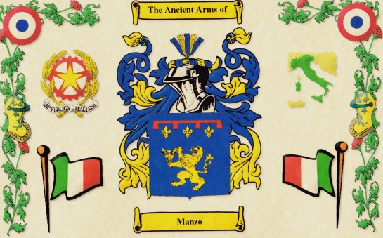 Manzo Coat of Arms