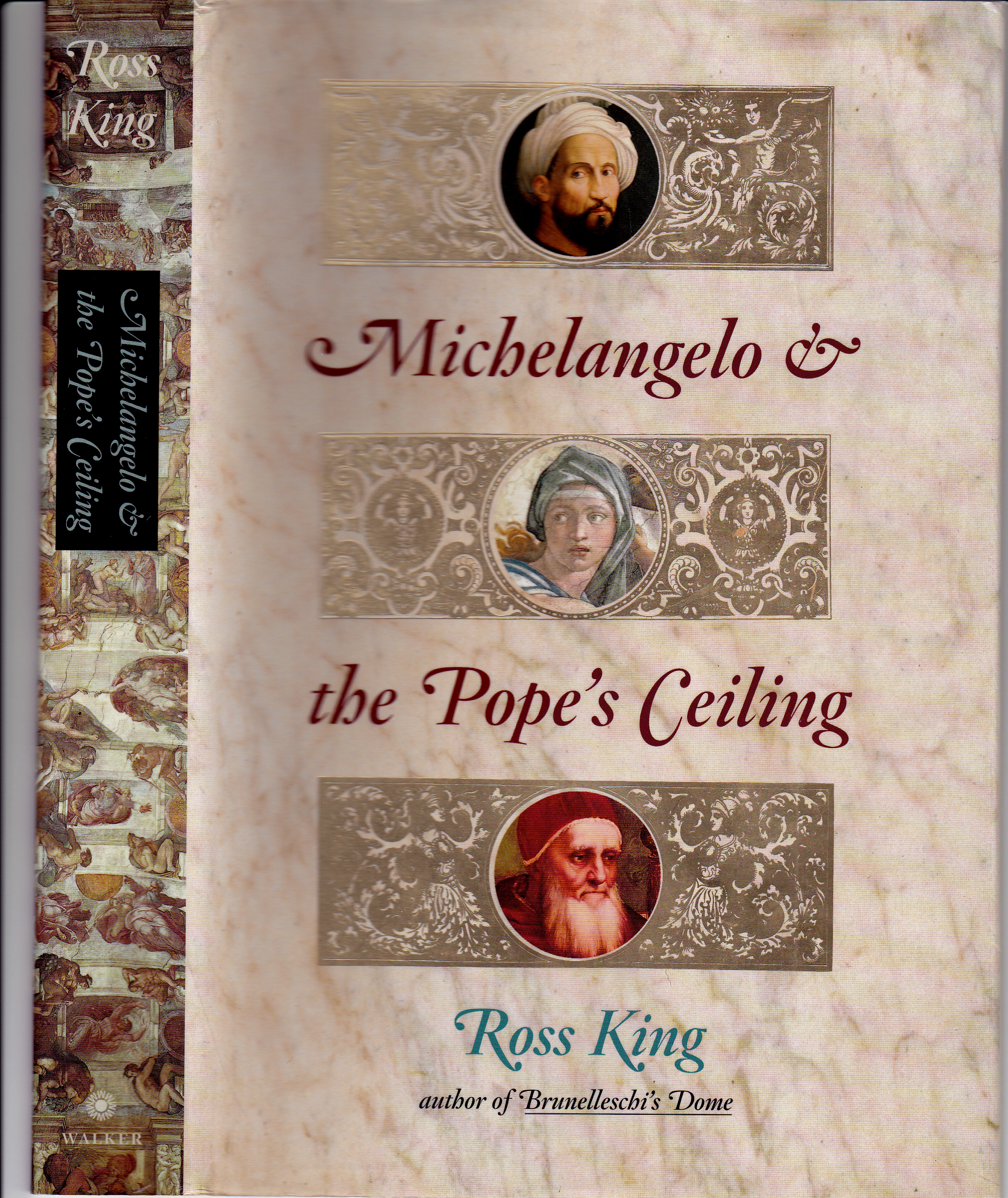 michelangelo and the popes ceiliing essay Read a review of michelangelo and the pope's ceiling by ross king at mostlyfictioncom great book for anyone who enjoys well-researched art history.