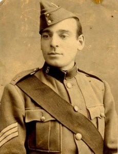 Sargeant Ateo Frandi. 2