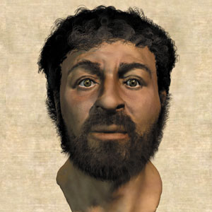 jesus's real face