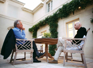 dawkins_hitchens in conversation photo Newstatesman