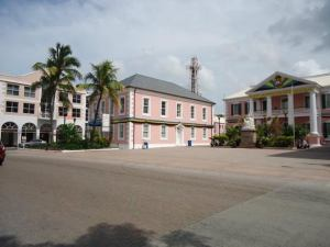 early 19C parliament buildings Nassau