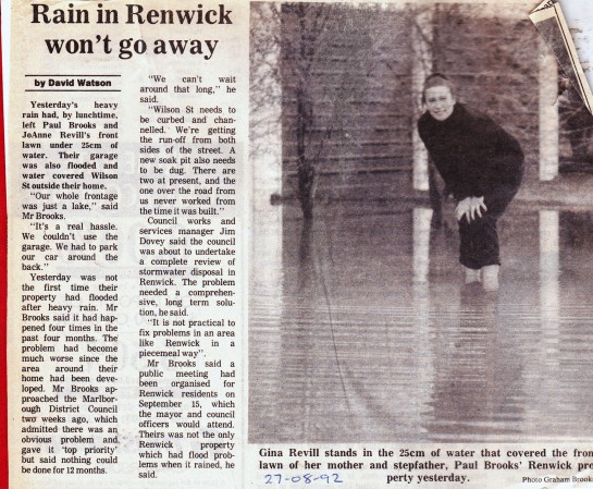 Renwick flooding